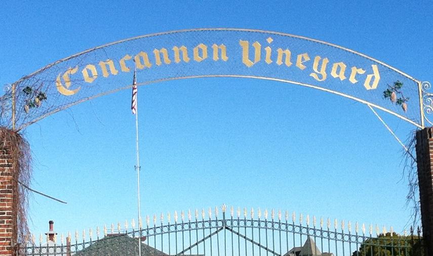 Concannon Vineyard Sign