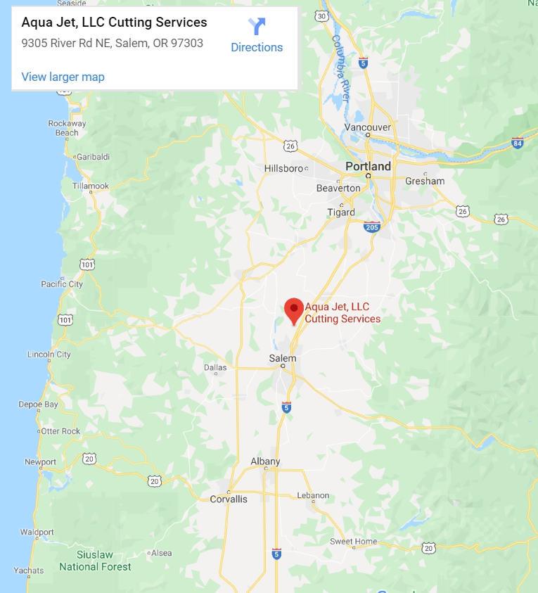 Map - Aqua Jet, LLC